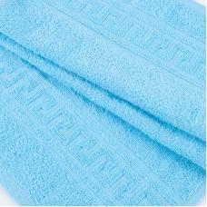 Полотенце махровое 30/50 см цвет 502 ярко-голубой