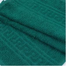 Полотенце махровое 30/50 см цвет 507 темно-зеленый