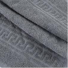 Полотенце махровое 30/50 см цвет 910 серый