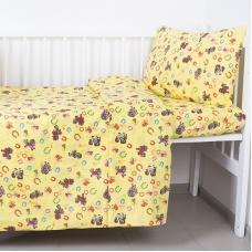 Постельное белье в детскую кроватку 1634/5 с простыней на резинке