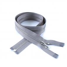 Молния металл №1 никель разъем 50см D225 серый