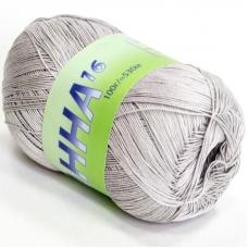 Анна 373 100% хлопок 100гр 530м 1000 (Италия) цвет светло-серый
