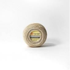 Канариес-20 4660 100% хлопок 20гр 230м (Турция) цвет св.бежевый