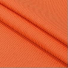 Ткань на отрез вафельное полотно гладкокрашенное 150 см 165 гр/м2 цвет коралл