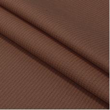 Ткань на отрез вафельное полотно гладкокрашенное 150 см 165 гр/м2 цвет шоколад