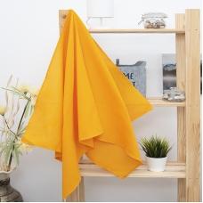 Полотенце вафельное банное 150/75 см цвет апельсин