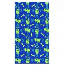 Полотенце махровое ПЦ-2602-2293 50/90 см цвет синий