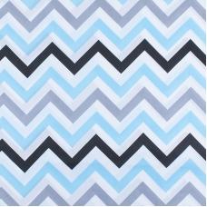 Маломеры поплин 150 см 1797/2 цвет голубой 11 м