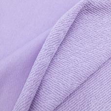 Ткань на отрез футер 3-х нитка диагональный 6855-1 цвет светло-лиловый