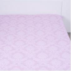 Простыня поплин 10333/3 Агат (розовый) 1.5 сп