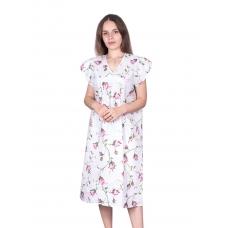 Сорочка женская бязь вид 2 117/1 размер 48-50