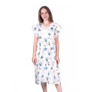 Сорочка женская бязь вид 2 117/2 размер 48-50