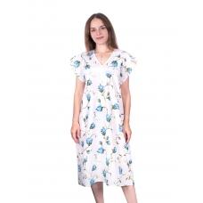 Сорочка женская бязь вид 2 117/2 размер 52-54