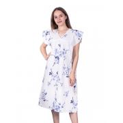 Сорочка женская бязь вид 2 157/1 размер 48-50