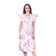 Сорочка женская бязь вид 2 157/2 размер 64-66