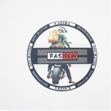 Нашивка Fashion №2 17.5см