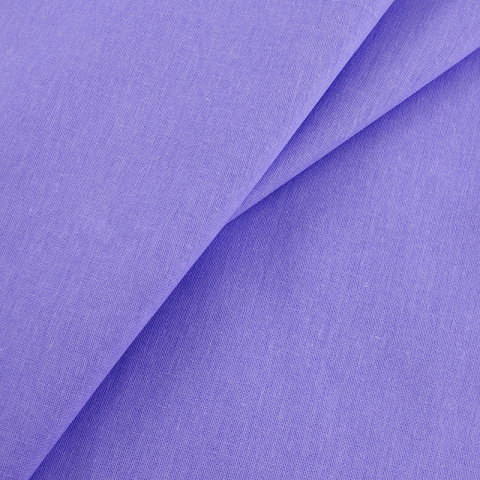 Бязь гладкокрашеная 120гр/м2 220 см на отрез цвет василек