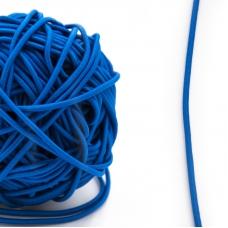 Резинка шляпная 0,25см синяя 1 метр