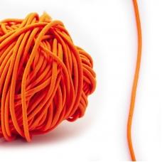 Резинка шляпная 0,25см оранжевый 1 метр