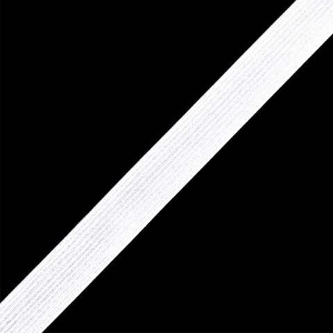 Резинка вязаная 30мм 50ярд белая МС164