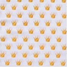 Ткань на отрез перкаль 150 см 13271/1 Crowns (компаньон)