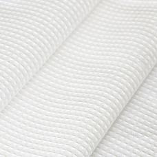 Ткань на отрез вафельное полотно отбеленное 45 см 200 гр/м2