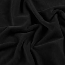 Ткань на отрез велюр цвет EGR0433880 черный