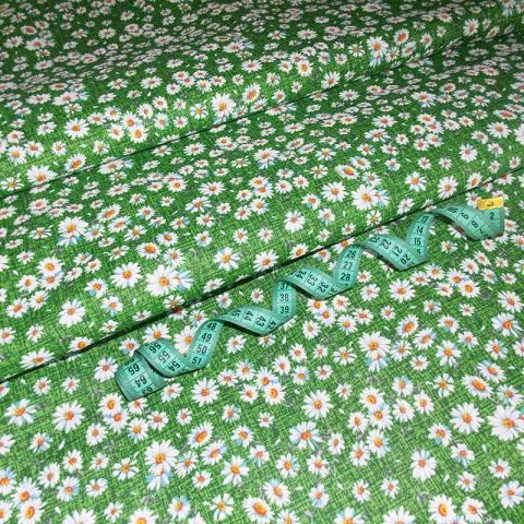 Маломеры бязь плательная 150 см 10462/1 цвет зеленый 0.9 м