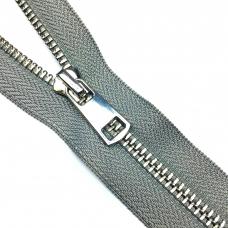 Молния металл №5ТТ никель н/р 18см D308 серый