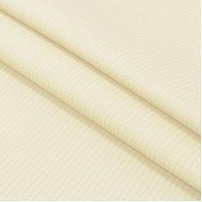 Ткань на отрез вафельное полотно гладкокрашенное 150 см 165 гр/м2 цвет ваниль