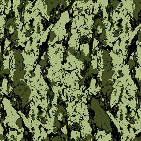 Ткань на отрез бязь камуфлированная ГОСТ грунт 150 см 787-3п
