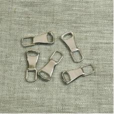 Подвес к бегунку №3 металл никель (юбка)