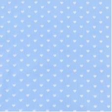 Мерный лоскут на отрез бязь плательная 150 см 1746/3 цвет голубой