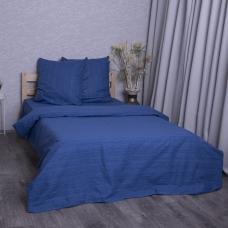 Постельное белье из перкаля 2049315 Эко 15 синий 2-х сп нав. 70/70.