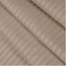 Ткань на отрез страйп сатин полоса 1х1 см 240 см 140 гр/м2 В005