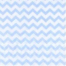 Мерный лоскут бязь плательная 150 см 1692 цвет голубой 3,4 м