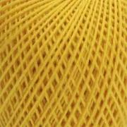Нитки для вязания Ирис 100% хлопок 25 гр 150 м цвет 0301 цедра лимона