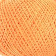 Нитки для вязания Ирис 100% хлопок 25 гр 150 м цвет 0604 светло-оранжевый