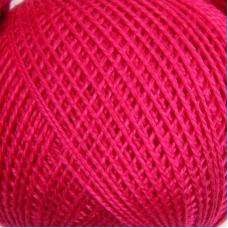 Нитки для вязания Ирис 100% хлопок 25 гр 150 м цвет 1112 ярко-розовый