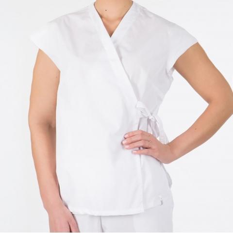 Блузка-кимоно медицинская 52-54 рост 172-176 уценка
