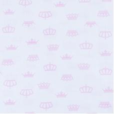 Мерный лоскут бязь плательная б/з 150 см 369/2 цвет розовый 5,4 м