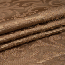 Портьерная ткань 150 см на отрез 100/2С цвет 5 шоколад