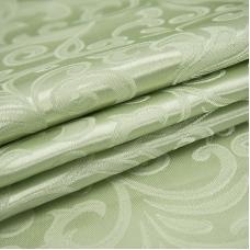 Маломеры портьерная ткань 150 см 100/2С цвет 6 салатовый 1 м
