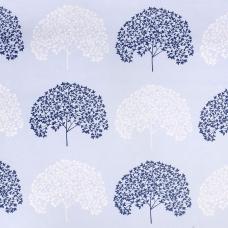 Ткань на отрез поплин 220 см 115 г/м2 28251/2 Деревья компаньон