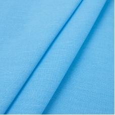 Поплин гладкокрашеный 220 см 115 гр/м2 цвет голубой