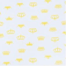 Ткань на отрез бязь плательная б/з 150 см 369/8 цвет желтый