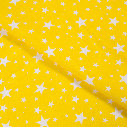 Маломеры бязь плательная 150 см 1556/9  цвет желтый 0.9 м