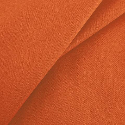 Маломеры бязь гладкокрашеная 120гр/м2 150 см цвет оранжевый 1 м