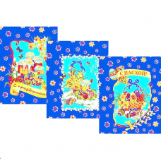 Набор вафельных полотенец 3 шт 50/60 см 539-1п Пасха