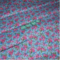 Бязь плательная 150 см 10461/4 цвет голубой